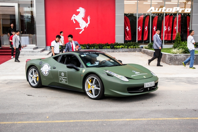 Dàn siêu xe, xe thể thao 100 tỷ của đại gia Việt tới dự lễ khai trương showroom Ferrari - Ảnh 2.