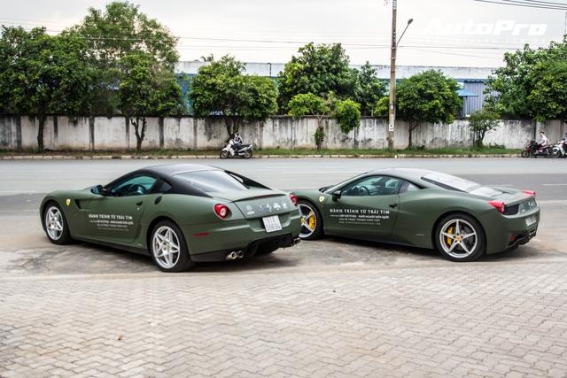 Dàn siêu xe, xe thể thao 100 tỷ của đại gia Việt tới dự lễ khai trương showroom Ferrari