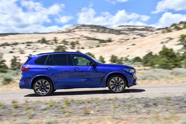 BMW X5 và X6 đồng loạt ra mắt phiên bản M với động cơ mới mạnh gần 600 mã lực - Ảnh 2.
