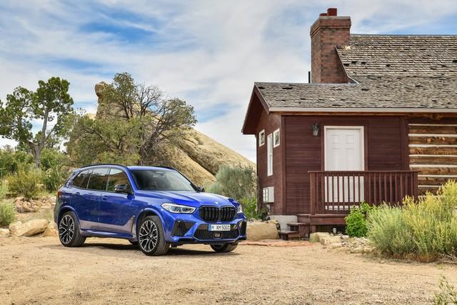 BMW X5 và X6 đồng loạt ra mắt phiên bản M với động cơ mới mạnh gần 600 mã lực - Ảnh 3.