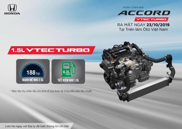 Đại lý 'nhá hàng' Honda Accord 2019, rục rịch tổ chức sự kiện ra mắt xe trước cả VMS - Ảnh 2.