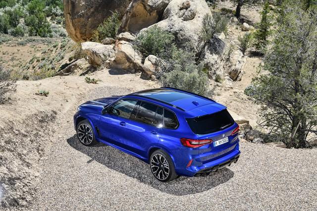 BMW X5 và X6 đồng loạt ra mắt phiên bản M với động cơ mới mạnh gần 600 mã lực - Ảnh 4.