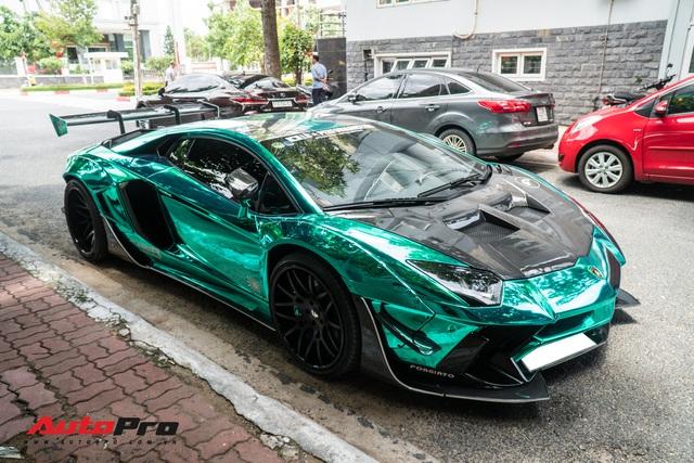 Khi Lamborghini Aventador đã trở nên phổ biến, đại gia Việt chi triệu USD sắm phiên bản đặc biệt - Ảnh 5.