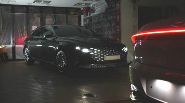 Hyundai Azera - Đàn anh Sonata đấu Toyota Avalon lộ bản mới, sexy bất ngờ
