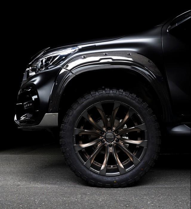 Toyota Hilux độ Wald hầm hố hơn Ford Ranger Raptor, giá gói nâng cấp ngang Kia Morning - Ảnh 4.