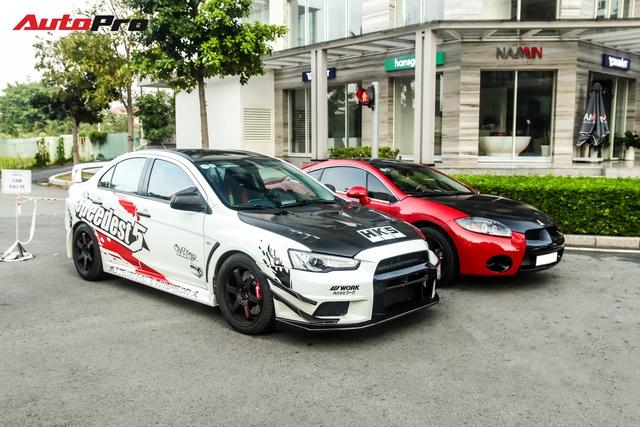 Hội chơi xe thể thao Nhật khuấy động Vũng Tàu, sự góp mặt của Cường Đô-la và siêu xe gây chú ý - Ảnh 3.
