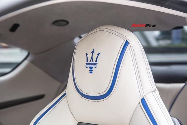 Chưa ra biển số, Maserati GranTurismo siêu lướt chào khách Việt với giá rẻ hơn 2,5 tỷ đồng so với mua mới - Ảnh 18.
