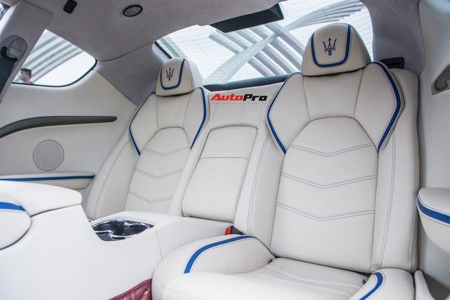 Chưa ra biển số, Maserati GranTurismo siêu lướt chào khách Việt với giá rẻ hơn 2,5 tỷ đồng so với mua mới - Ảnh 17.