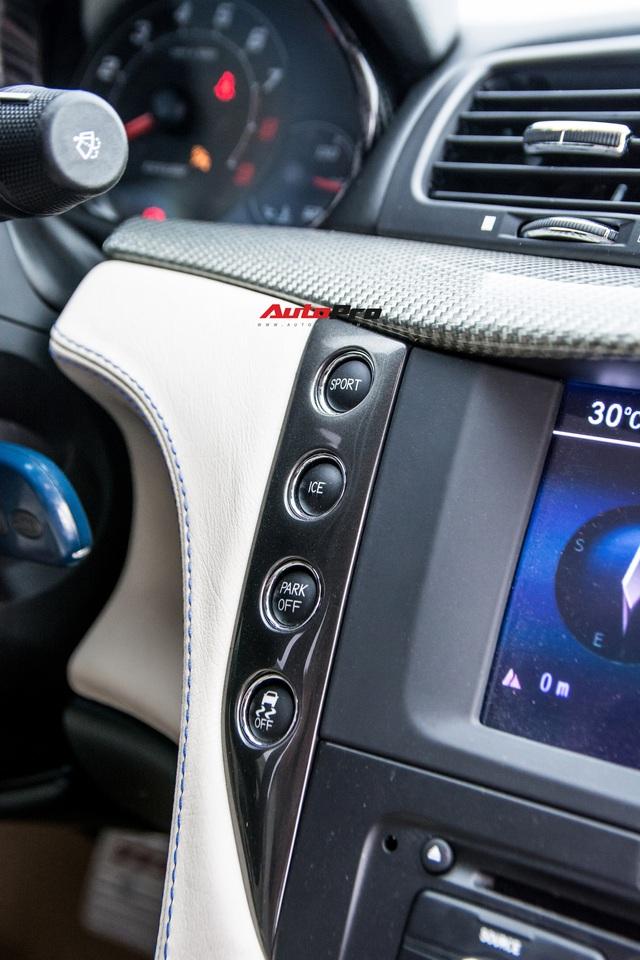 Chưa ra biển số, Maserati GranTurismo siêu lướt chào khách Việt với giá rẻ hơn 2,5 tỷ đồng so với mua mới - Ảnh 14.