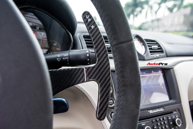 Chưa ra biển số, Maserati GranTurismo siêu lướt chào khách Việt với giá rẻ hơn 2,5 tỷ đồng so với mua mới - Ảnh 10.