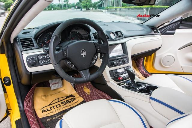 Chưa ra biển số, Maserati GranTurismo siêu lướt chào khách Việt với giá rẻ hơn 2,5 tỷ đồng so với mua mới - Ảnh 9.