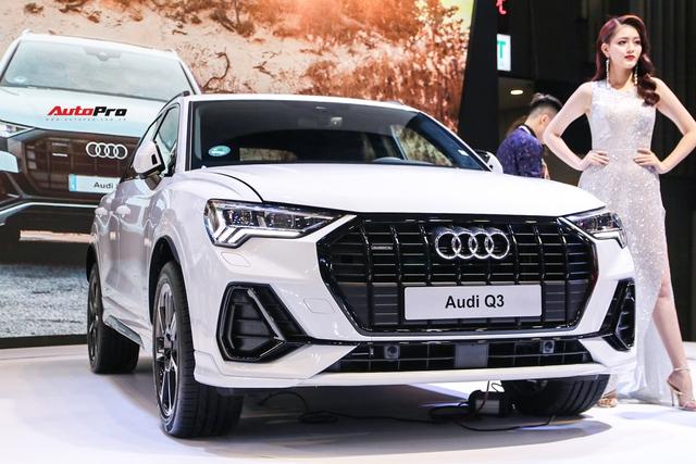 Cận cảnh Audi Q3 mới vừa ra mắt khách hàng Việt Nam: Có gì để đấu Mercedes GLB sắp về nước? - Ảnh 1.