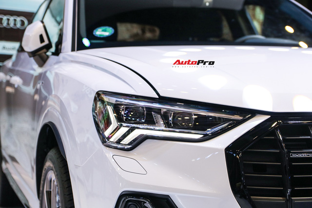 Cận cảnh Audi Q3 mới vừa ra mắt khách hàng Việt Nam: Có gì để đấu Mercedes GLB sắp về nước? - Ảnh 2.