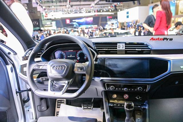 Cận cảnh Audi Q3 mới vừa ra mắt khách hàng Việt Nam: Có gì để đấu Mercedes GLB sắp về nước? - Ảnh 8.