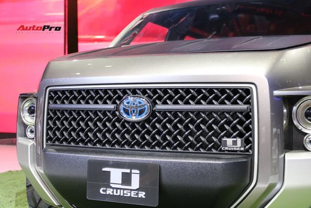 360 độ tìm hiểu nhanh Toyota Tj Cruiser Concept: Tiền đề xe 7 chỗ siêu rộng, giữ giá - Ảnh 4.
