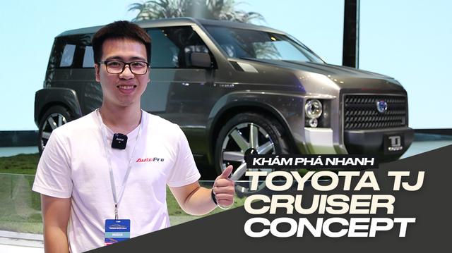 360 độ tìm hiểu nhanh Toyota Tj Cruiser Concept: Tiền đề xe 7 chỗ siêu rộng, giữ giá