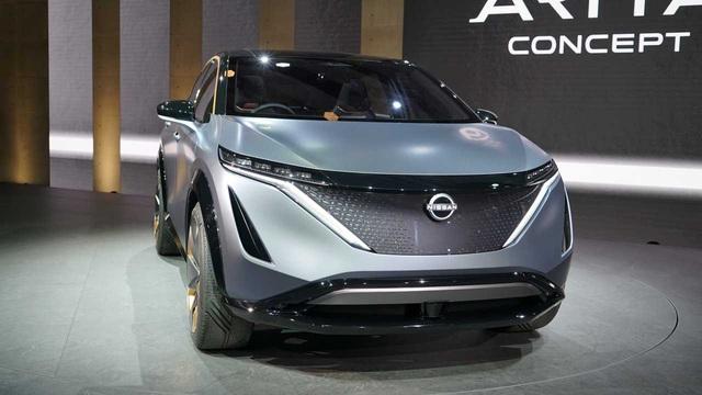 Ariya Concept: Một tương lai nơi SUV Nissan đẹp không kém Lamborghini