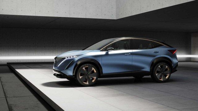 Ariya Concept: Một tương lai nơi SUV Nissan đẹp không kém Lamborghini - Ảnh 2.