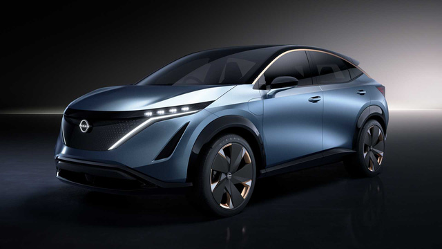 Ariya Concept: Một tương lai nơi SUV Nissan đẹp không kém Lamborghini - Ảnh 3.