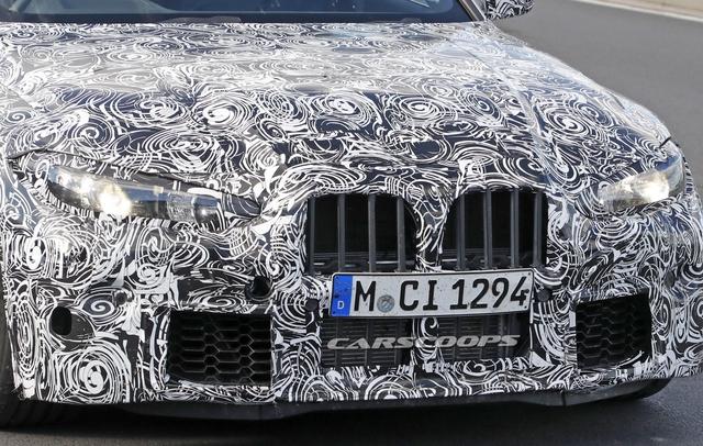 Tưởng đùa mà thật, BMW đưa lưới tản nhiệt khổng lồ lên M3, M4 mới - Ảnh 3.