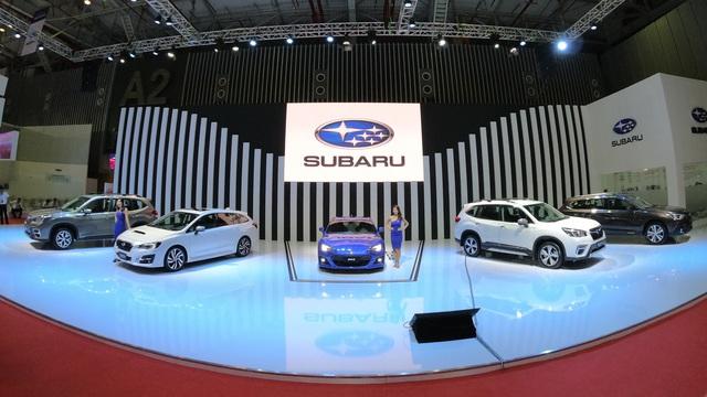 Subaru BRZ - Xe thể thao hiếm hoi tại Triển lãm ô tô Việt Nam 2019