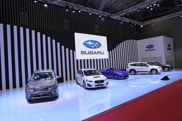 Subaru BRZ - Xe thể thao hiếm hoi tại Triển lãm ô tô Việt Nam 2019 - Ảnh 1.