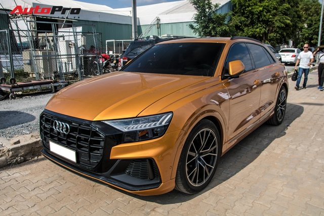 Audi Q8 đầu tiên có chủ tại Việt Nam bất ngờ tái xuất, danh tính chủ nhân vẫn là điều gây tò mò - Ảnh 3.