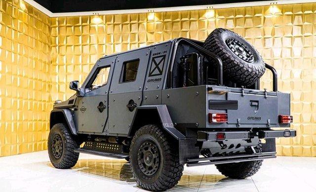Mercedes-Benz G500 4x4 bọc thép cho đại gia mê xe tăng nhưng chỉ đi được ô tô - Ảnh 3.