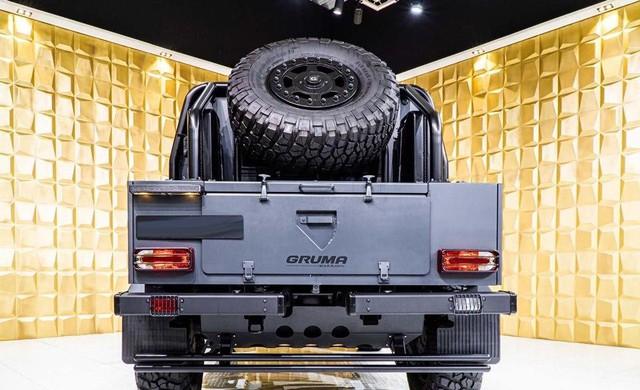 Mercedes-Benz G500 4x4 bọc thép cho đại gia mê xe tăng nhưng chỉ đi được ô tô - Ảnh 4.