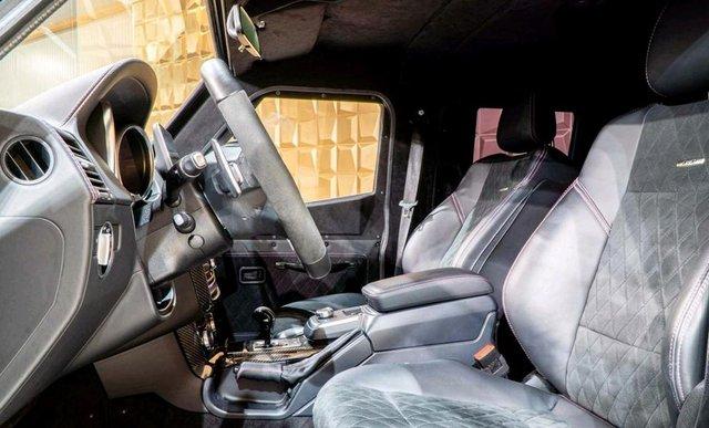 Mercedes-Benz G500 4x4 bọc thép cho đại gia mê xe tăng nhưng chỉ đi được ô tô - Ảnh 5.