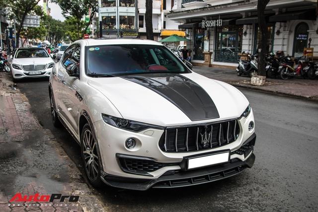 Đại gia Đăk Lăk chi hàng trăm triệu đồng độ Maserati Levante S với gói Larte Design hàng hiếm - Ảnh 1.