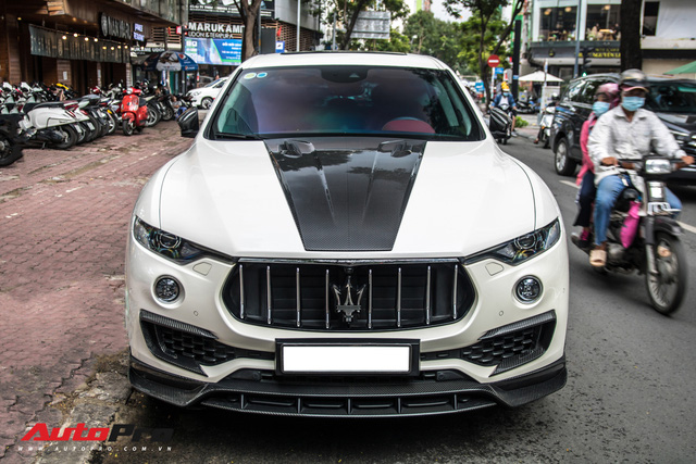 Đại gia Đăk Lăk chi hàng trăm triệu đồng độ Maserati Levante S với gói Larte Design hàng hiếm - Ảnh 6.