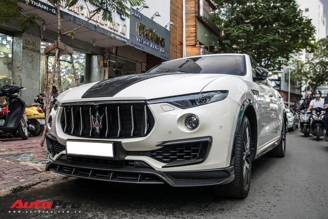 Đại gia Đăk Lăk chi hàng trăm triệu đồng độ Maserati Levante S với gói Larte Design hàng hiếm - Ảnh 8.