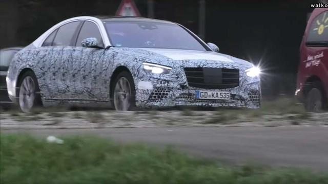 Mercedes-Benz S-Class tiếp tục lộ mặt chạy thử với trang bị mới - Ảnh 3.