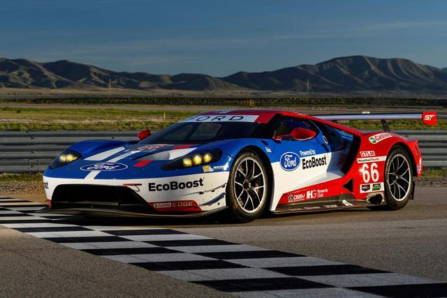 Ford âm thầm phát triển siêu xe GT đe dọa Ferrari? - Ảnh 1.