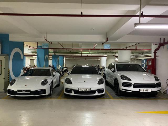 Cường 'Đô-la' và Đàm Thu Trang tậu 911 Carrera S giá gần 8 tỷ đồng vào bộ sưu tập Porsche toàn màu trắng - Ảnh 1.