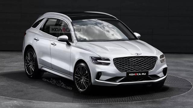 Genesis GV70 2021 - Đừng đánh giá thấp tham vọng xe sang của người Hàn