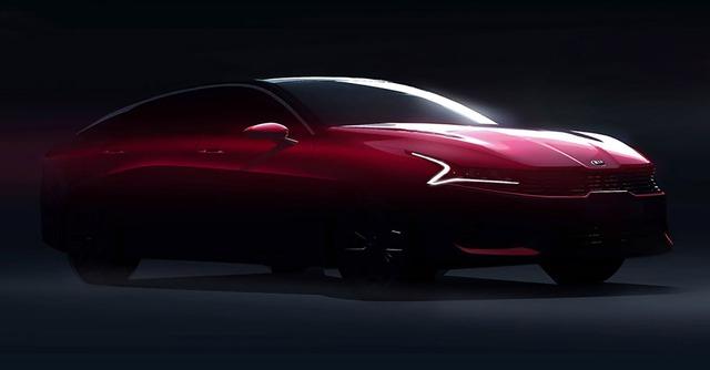Kia Optima mới lần đầu lộ diện, đe doạ trực tiếp Toyota Camry và Honda Accord thế hệ mới - Ảnh 1.