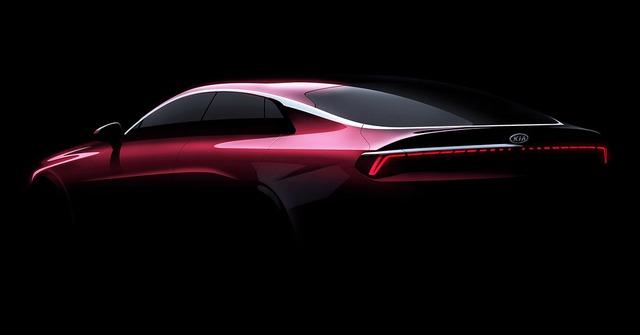 Kia Optima mới lần đầu lộ diện, đe doạ trực tiếp Toyota Camry và Honda Accord thế hệ mới - Ảnh 2.