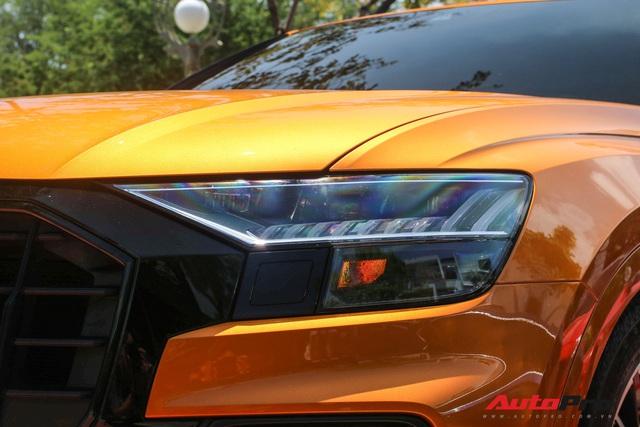 Cận cảnh Audi Q8 với gói ngoại thất ngàn đô, màu cam độc nhất Việt Nam - Ảnh 5.