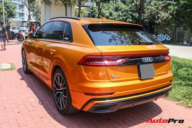 Cận cảnh Audi Q8 với gói ngoại thất ngàn đô, màu cam độc nhất Việt Nam - Ảnh 7.