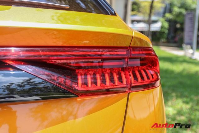 Cận cảnh Audi Q8 với gói ngoại thất ngàn đô, màu cam độc nhất Việt Nam - Ảnh 8.