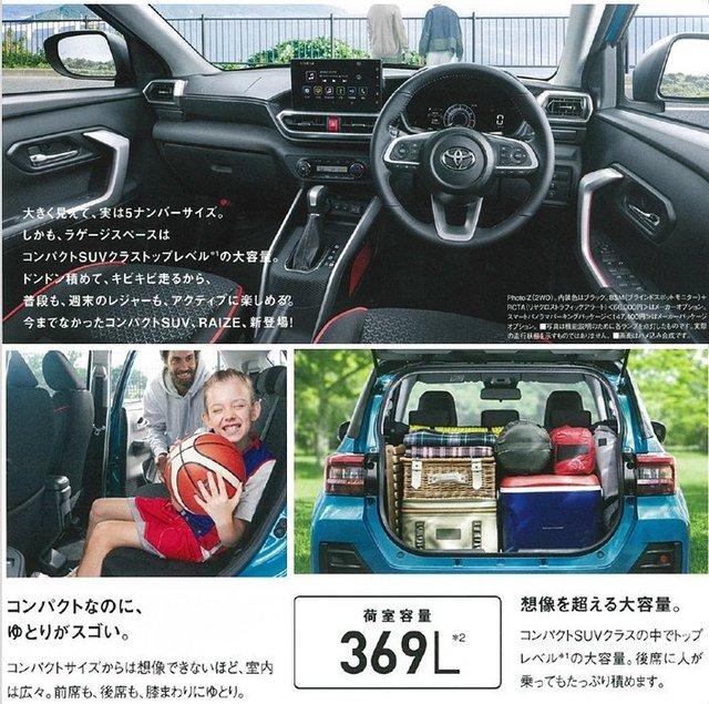 Thêm ảnh và thông tin mới về Toyota Raize – Anh em RAV4 thay thế Rush ra mắt trong tuần sau - Ảnh 5.