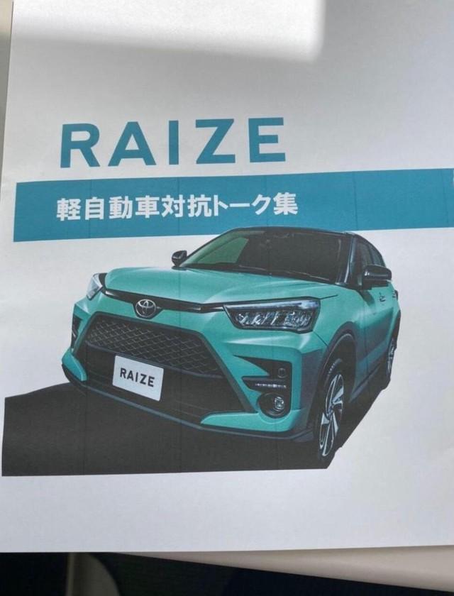 Thêm ảnh và thông tin mới về Toyota Raize – Anh em RAV4 thay thế Rush ra mắt trong tuần sau - Ảnh 2.