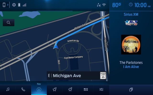 Ford trình làng hệ thống thông tin giải trí SYNC4 vô vàn cải tiến - Ảnh 1.