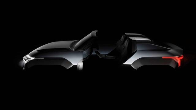 Mitsubishi tiếp tục nhá hàng SUV mang thiết kế cùng hệ thống truyền động dị có một không hai
