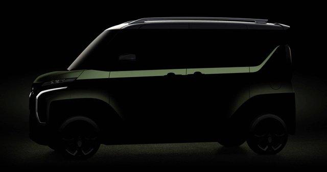 Mitsubishi tiếp tục nhá hàng SUV mang thiết kế cùng hệ thống truyền động dị có một không hai - Ảnh 4.