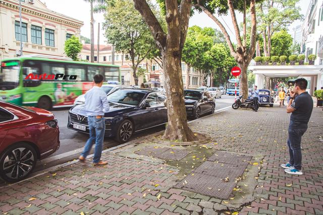 Hội VinFast Lux và nhóm chơi xe thể thao, xe sang cùng tụ tập trên phố Hà Nội - Ảnh 5.