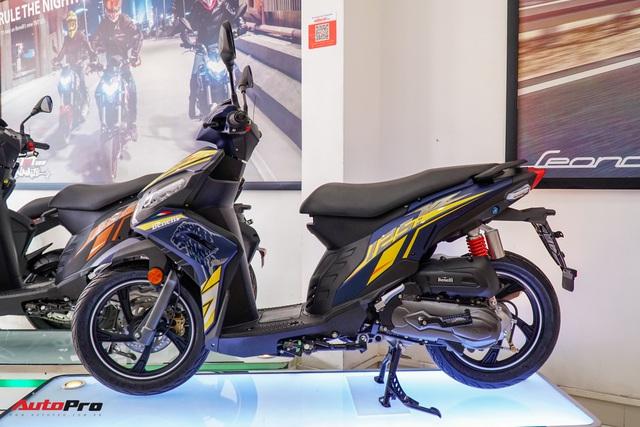 Benelli VZ125i giá 29,8 triệu đồng - đối thủ Honda Vision và Yamaha FreeGo chính thức ra mắt tại Việt Nam - Ảnh 11.