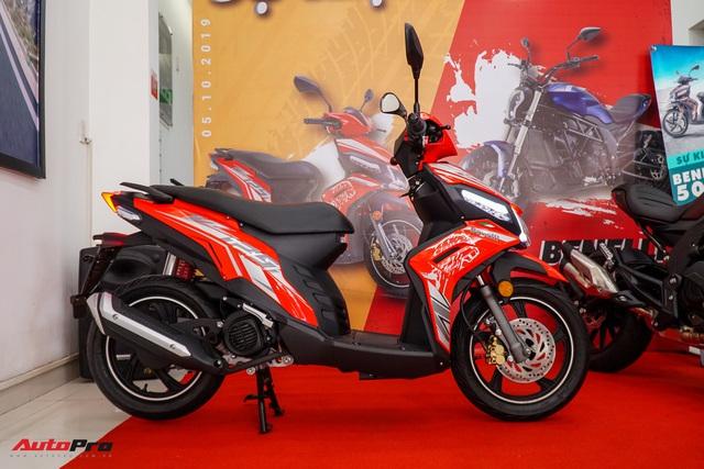 Benelli VZ125i giá 29,8 triệu đồng - đối thủ Honda Vision và Yamaha FreeGo chính thức ra mắt tại Việt Nam - Ảnh 4.